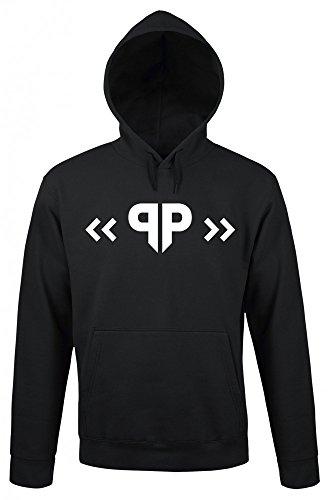 Papaplatte - Logo - Hoodie | Offizielles Merchandise | YouTube | Gaming | Twitch, Größe:M