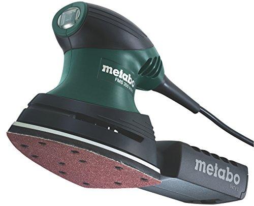 METABO 600065500 - Lijadora triangular para madera FMS 200 Intec (base grande) 200W con maletín
