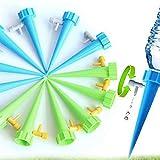 FYstar Dispositivo de riego automático Interruptor Válvula de Control Filtración de Agua Dispositivo de Goteo Riego por Goteo Dispositivo de riego automático Lento (Multicolor y 12pcs / Set)