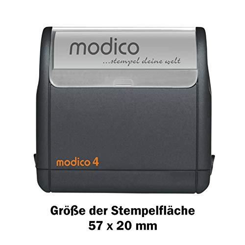 modico Stempel verschiedene in Größen (modico 4)