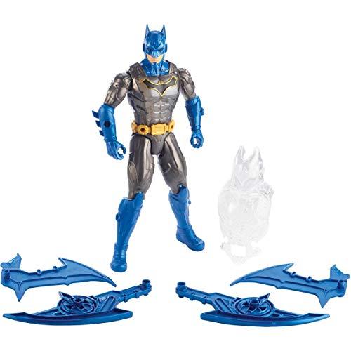DC Comics Figura de acción Batman con luces y sonidos y armadura (Mattel GGV15)