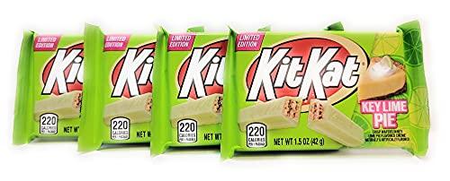 Key Lime Pie Kit Kat - 4 Bars - Limited Edition Flavor