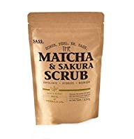 日本製・抹茶スクラブ,くすみ、毛穴洗浄,乾燥肌に天然植物由来のスクラブ