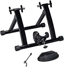 Yaheetech Premium Steel Bike Bicycle Indoor Exercise Bike Stationary Workout Trainer Stand