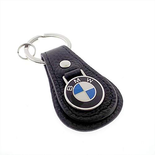 BMW Genuine Black Tear Drop Key Fob Key Chain Ring