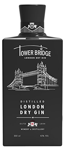 Ginebra Premium Tower Bridge London Dry GIN black 350ml