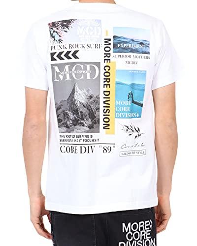 [エムシーディ] MCD Tシャツ JAPAN加工 フォト MIX Tee 212M1015 ホワイト M