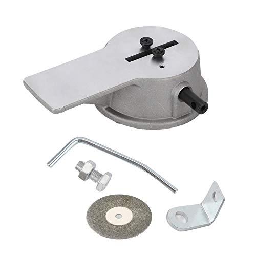 Filer manual de aluminio para aros de pistón, herramienta para limar espacios en los extremos de aros de pistón de precisión universal Rueda de corte 91089408 Accesorios, para ajustar espacios