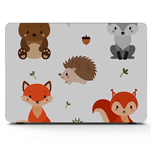 A1708 MacBook Pro Case Floral Birds Painted Cover MacBook Air 13 Hard Shell Mac Air 11'/13' Pro 13'/15'/16' with Notebook Sleeve Bag for MacBook 2008-2020 Version