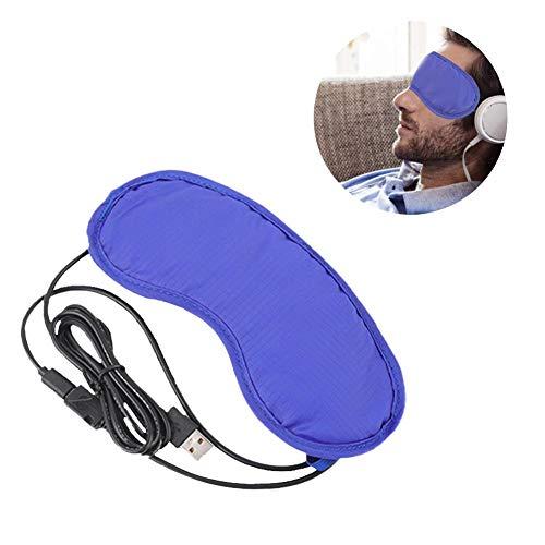lembrd Oogmasker, verwarmd slaapmasker, USB, herbruikbaar, warmte-enveloppen voor bleharitis, droog oog