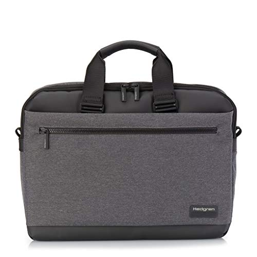 Hedgren Next Byte Briefcase RFID 39 cm Laptop Compartment, Stylish grey. (Grey) - HNXT08-214-01