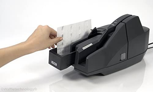 Waffletechnology Cleaning Card for Epson CaptureOne Check Scanner 15 Cards KWEPS-CS1B15WS
