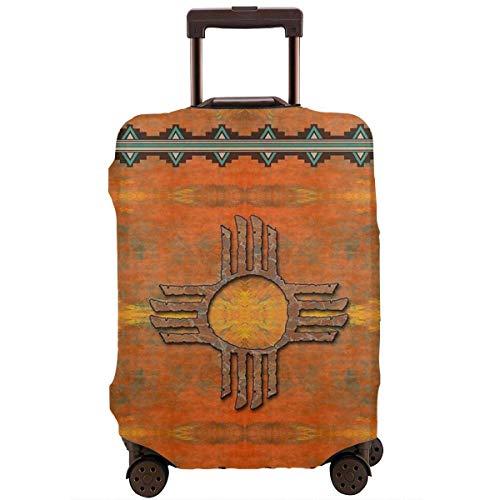 Protector de Maleta de Viaje Ilustración nativa de México Antiguo Funda Protectora...