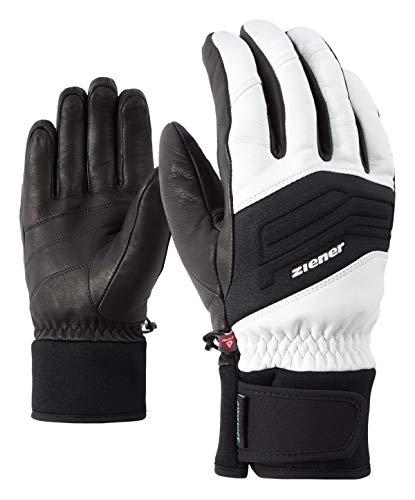 Ziener Herren Gowon AS Glove Alpine Ski-Handschuhe/Wintersport | Wasserdicht, Atmungsaktiv, , weiß (white), 10