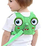 Toddler Harness Anti-Lost Safety Walking Leash New Design Toddler Leash for Toddlers Age 1-3 Years Boys and Girls (Green)