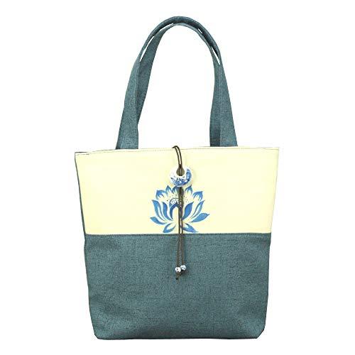 Baumwolle, Handtasche, Handarbeit, Unikat, Multifunktion, Damen, Nähte, Einkaufstasche,G-one