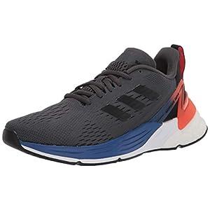 adidas Response Super Running Shoe, Grey/Black/Semi Solar Red, 3.5 US Unisex Big Kid