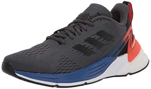 adidas Response Super Running Shoe, Grey/Black/Semi Solar Red, 5 US Unisex Big Kid