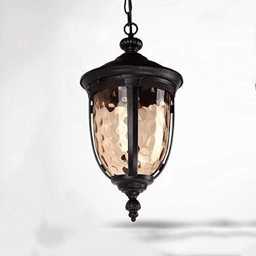 WEIJINGRIHUA Hanging Lampada Esterna Impermeabile del soffitto Luci del Pendente Vineyard Villa Decor Lampada a Sospensione Cortile Porticato Corridoio Lampadari E27 Lighting