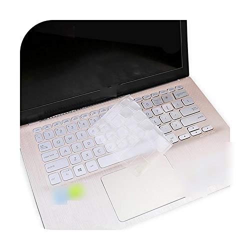 Funda protectora teclado para Asus Vivobook Flip S14 Tp412Ua Tp412 Vivo Book 14 X420 X420U X420Ua de 14 pulgadas Laptop Notebook Protector Cover Skin-Clear-