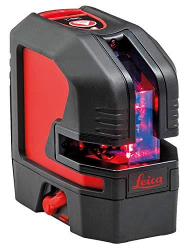 Leica Linienlaser Lino L2 (inkl. Akku + Ladegerät, Selbstnivellierungsbereich: ± 4°, Strahlenrichtung vertikal + horizontal, mit Kunststoffkoffer) 470625