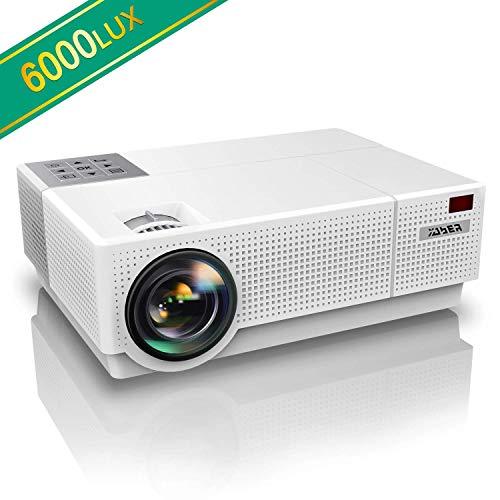 Vidéoprojecteur, YABER 6000 Lumens Video Projecteur Full HD 1080P...