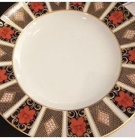 "Royal Crown Derby Old Imari ""9814"" Dinner plate White Center"