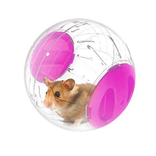 LDFV Hamsterball für Kleintiere, Spielzeug, Spielball für Hamster, Rennmäuse, Ratten, Plastikspielzeug