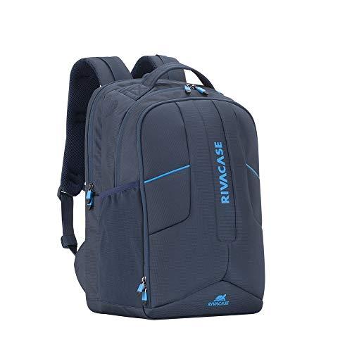 RIVACASE 7861 Laptop Bag 43.9 cm (17.3 Inches) Blue 7861 Backpack, 43.9 cm (17.3 Inches) Shoulder Strap, 1.01 kg, Blue