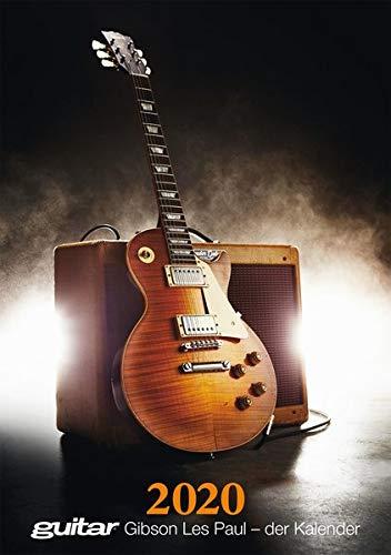 Guitar Gibson Les Paul - der Kalender 2020