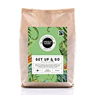 100% Arabica 500g Ground Coffee Coffee from Ethiopia & South America Recyclable Packaging Faitrade Certified Coffee