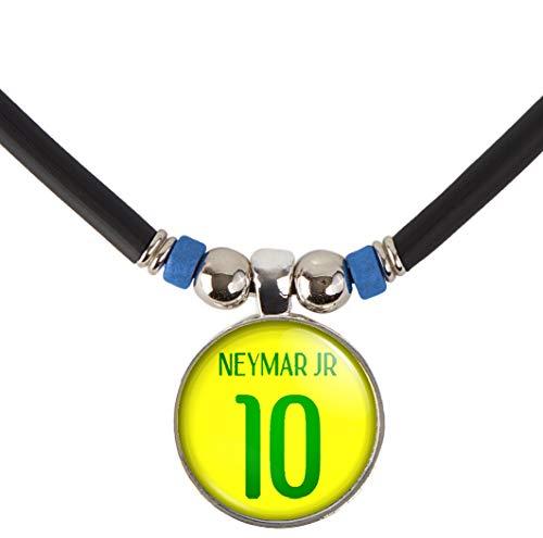 Neymar Jr. Brazil Soccer Jersey Necklace