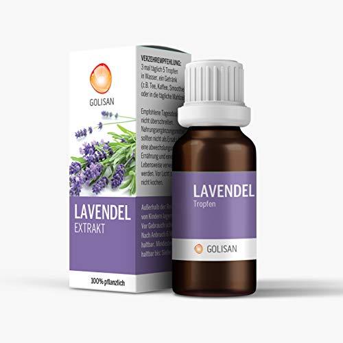 GOLISAN Premium Lavendel Extrakt Tropfen - hochdosiert - Tropfen 15ml