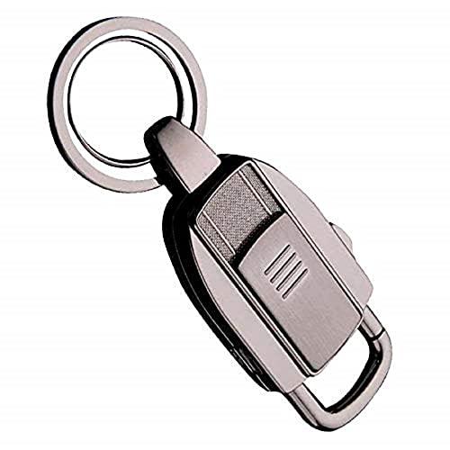 iwobi Porte Clef Briquet, Portable Briquet USB Rechargeable pour Cigarette,Bougie