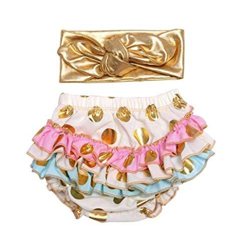 micia luxury(ミシアラグジュアリー) ベビーおむつカバー&ヘアバンド ケーキスマッシュ ハーフバースデー 誕生日 ギフト 3month ホワイト×マルチカラー