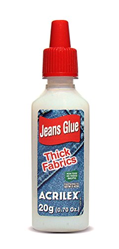 Cola Jeans, Acrilex, Bisnaga de 20 Gramas