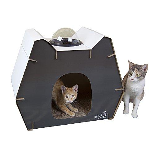 Kitty City Bubble Window Cat Cubby
