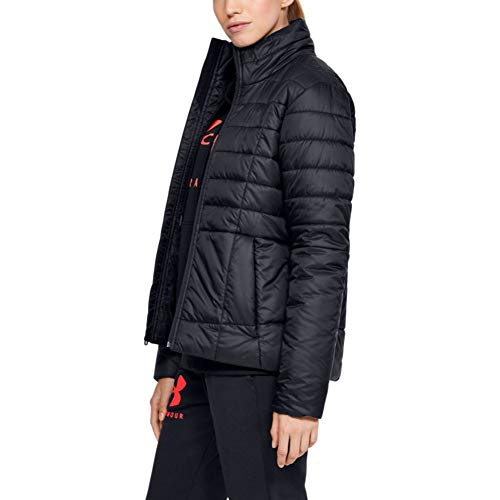 Under Armour Women's Armour Insulated Jacket , Black (001)/Jet Gray , Small