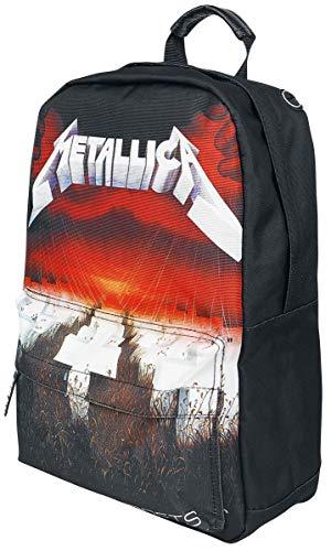 Metallica Master of Puppets Unisex Rucksack schwarz 100% Polyester Band-Merch, Bands