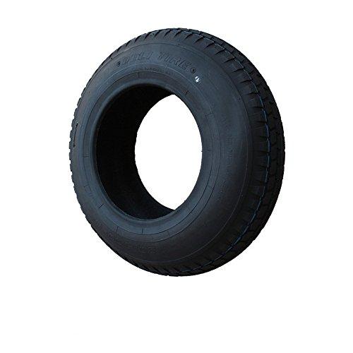 Reifen 400x100 4.80/4.00-8 Stollen Profil PR4-Lagen Tragfähigkeit 305 kg