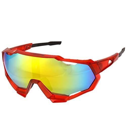 Aiovemc Gafas de bicicleta Gafas de sol deportivas Bicicleta de montaña Gafas de ciclismo de carretera Gafas de protección UV400 Hombres y mujeres