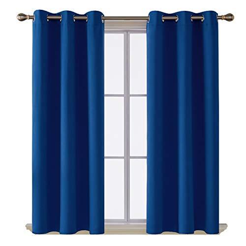 Deconovo Grommet Blackout Curtains for Living Room, Room...