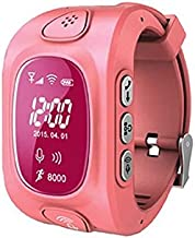 Children Pedometer SOS Kid Smart Tracker Tracking Device GPS Y3 Wrist Watch Pink