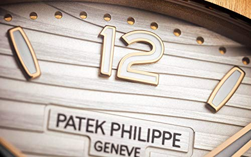 Patek Philippe Nautilus Rose Gold 7118-1R-001 with Silvery Opaline dial