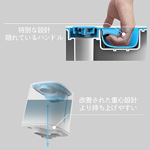 加湿器卓上令和革新版Sakugi3.5L加湿器大容量超音波式12-18畳対応次亜塩素酸水加湿器除菌長時間連続稼働乾燥対策卓上加湿器ミストの吹出が360°調整可能静音、省エネ空焚き防止機能付き