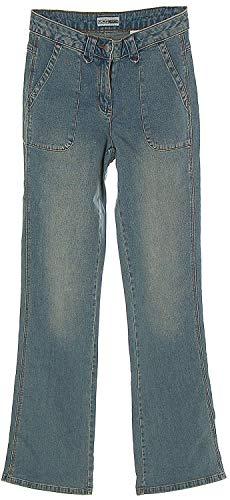 Flashlights Damen Strech-Jeans Jeans Blue Blau in Lang-Größe 76