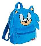 Zaino ufficiale Sonic The Hedgehog 3D peluche bambini ragazzi ragazze Sega libro scuola pranzo sport borsa da viaggio zaino
