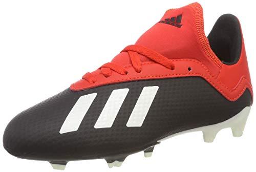 Adidas X 18.3 Fg J Zapatillas de Fútbol Niños, Negro (Core Black/Off White/Grey Four F17 Core Black/Off White/Grey Four F17), 37 1/3 EU