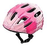 meteor Casco Bici ideale per bambini Caschi perfetto per Downhill Enduro Ciclismo MTB Scooter Helmet Ideale per Tutte Le Forme di attività in Bicicletta Helmo KS01 (S 48-52 cm, gradient pink)