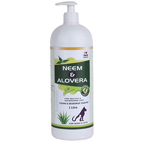 Medilogy Biotech Dog Shampoo Neem Aloe Vera 1 Litre...
